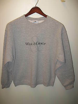 Will & Grace Sweatshirt -  NBC Experience LGBT Gay Television Show Shirt Large