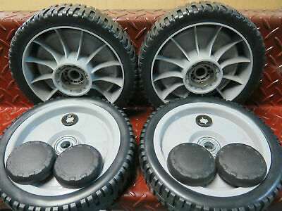 "4 x 8"" Honda lawnmower wheel set self propelled suit hru214 hru215 and hru216"