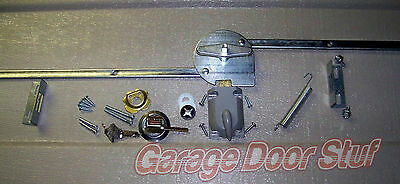 Garage Door Lock Set  1 Car Door Extension Spring
