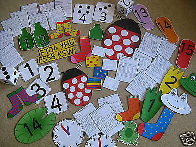 Outdoor Maths teaching resources TO PRINT -games - EYFS - Outdoor Play, Numeracy