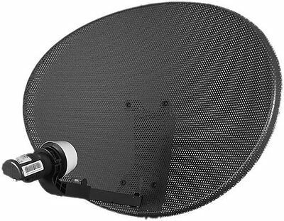 Sky / Freesat MK4 Satellite Dish With Quad LNB - LASTEST DESIGN - Free Delivery