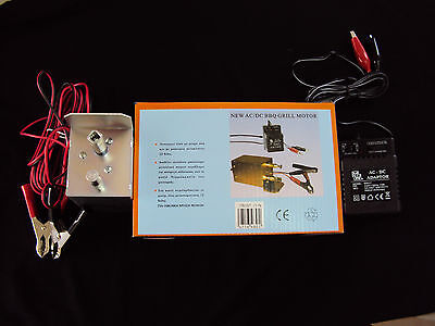 BBQ Grill Motor Ac/Dc 240v Professional New ** 2 Years Waranty **
