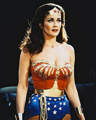 Lynda Carter as Wonder Woman in Wonder Woman 24X30 Poster sexy low cut outfit
