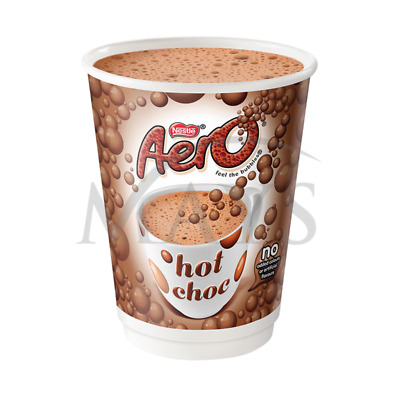 40 Nescafe & And Go 2 Go Nestle Aero Hot Chocolate Foil Sealed  In Cup Drinks