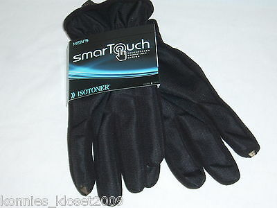 Men's Isotoner Smartouch - Touchscreen Compatible Gloves - You Choose Size - New