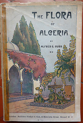 Alfred S.gubb : The Flora Of Algeria