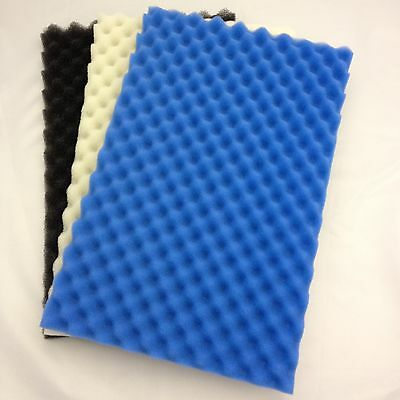 "3 PIECE FISH POND FOAM FILTER MEDIA SET - PROFILED - 17"" x 11"""