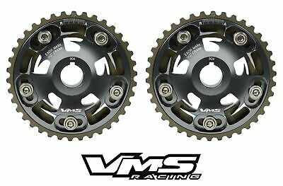 Vms Honda Acura B Series Engines Adjustable Billet Cam Gears Pair Qty 2 Gunmetal