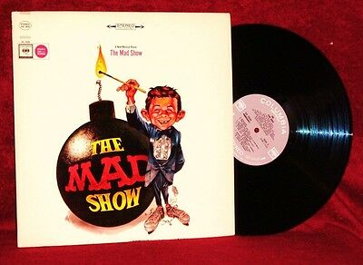 Orig Cast The Mad Show Mary Rodgers 1966  Columbia Masterworks Stereo Nm