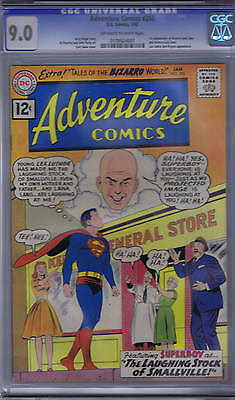 Adventure Comics #292 DC 1962 CGC 9.0