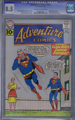 Adventure Comics #289 DC 1961 CGC 8.5 Mary Shelly in story