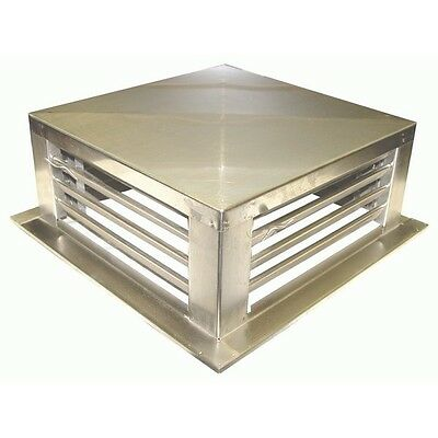 """Drop Down Evaporative Cooler Diffusers Stainless Steel 22""""x22""""x6"""" DF-22S"""