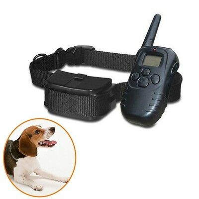 Remote Control dog training collars pet products accessories 300m range LCD