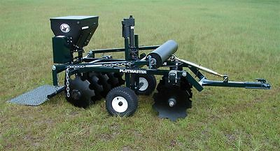 "Plotmaster ""Hunter 300 Electric"" Deer Plot Planting Equipment"