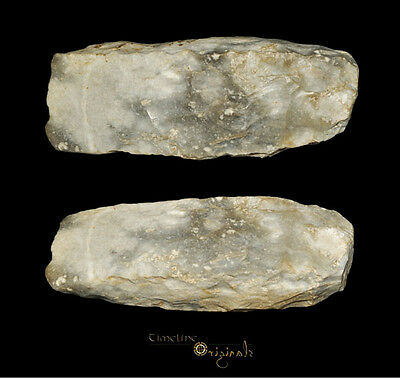 DANISH NEOLITHIC STONE AGE THICK BUTTED AXE axehead tool 025050