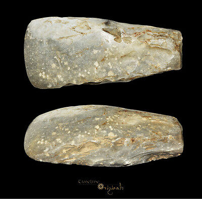 DANISH NEOLITHIC STONE AGE THICK BUTTED AXE axehead tool 025042