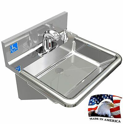 Portable sink hand washing made easy no electricity new - American made stainless steel sinks ...