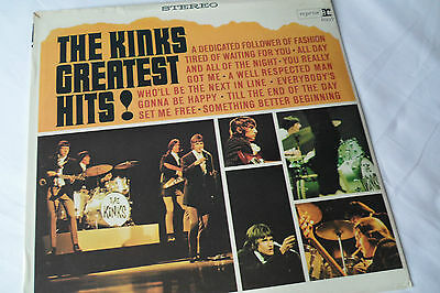 SEALED Original KINKS Greatest Hits LP -    SEALED    Pasteover  Reprise RS-6217