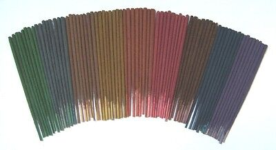 4 Packs of 8 Mini Incense Sticks - Many Scents Available - Buy 3 Get 1 Free
