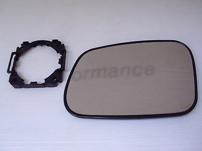 Land Rover Discovery 1 300Tdi Wing Mirror Glass & Adaptor  Lh - New - 94 To 98