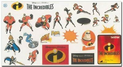 Brother Disney Incredibles Embroidery Card...brand New