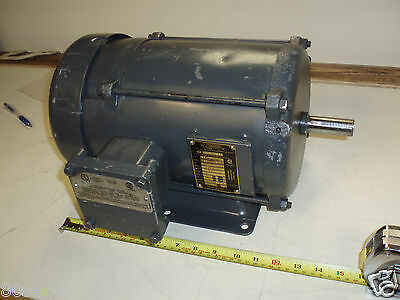 Baldor 1Hp Ac Motor Hazardous Duty # M7015  230/460Vac  60Hz. 1725Rpm