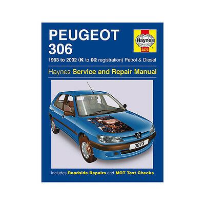 Peugeot 306 1.1 1.4 1.6 1.8 2.0 Pet 1.8 1.9 Dsl 93-02 (K to 02 Rg) Haynes Manual