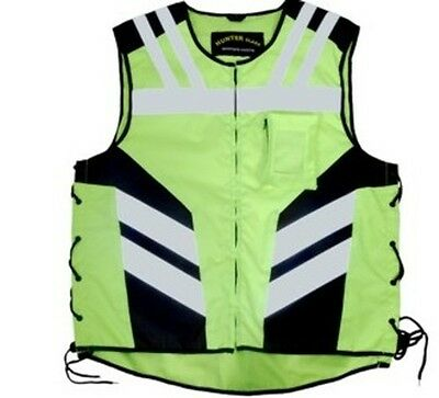 Hi-Vis bright reflective waist  motorbike motorcycle vest and cycle clothing