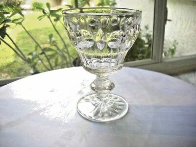 Set of 2 Sterling Crystal Classique Pattern Water Glasses