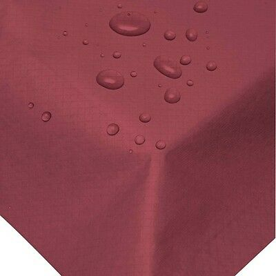 25 Burgundy Swansilk 90cm Slip Covers Reusable Wipeable Table Covers Party Xmas