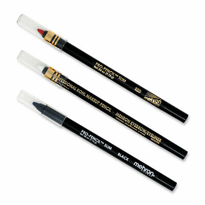 Mehron Pro Pencil Slim Soft Creme Outlining Fine Lines Face Body Makeup Pencils