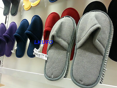 New IKEA assorted color slipper - S/M or L/XL - Choose from 7 colors
