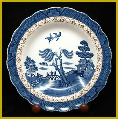 "Booths Real Old Willow 9 3/4"" Luncheon Plates - A8025"