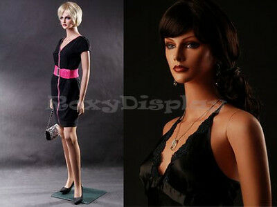 Fiberglass Female Manequin Mannequin Display Dress Form #MZ-LISA1+FREE WIG