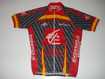 New size Medium   M - CAISSE D EPARGNE Team Cycling Road Bike Jersey eec691858