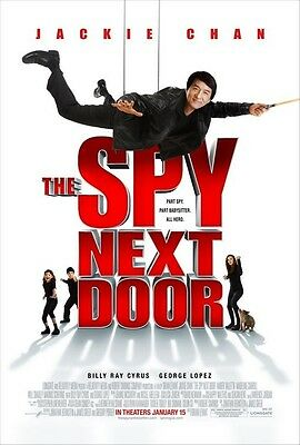 THE SPY NEXT DOOR 27x40 DS Original Movie Poster One Sheet MINT Jackie Chan 2010