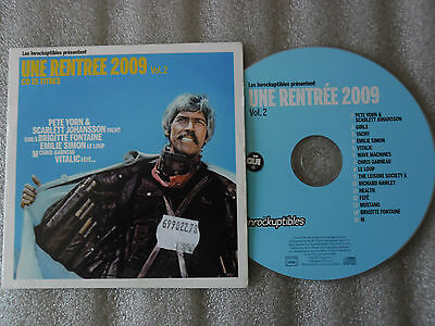 Cd-Les Inrockuptibles-Une Rentree 2009 Vol.2-Pete Yorn-(Cd Maxi)2009-15Track