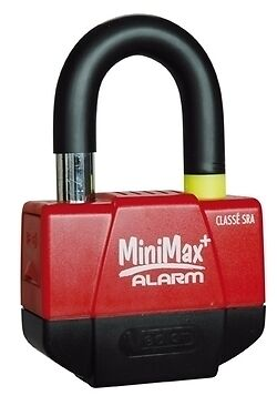 Mini U Bloc Bloque Disque Antivol Security + Alarme moto MINIMAX+ VECTOR SRA
