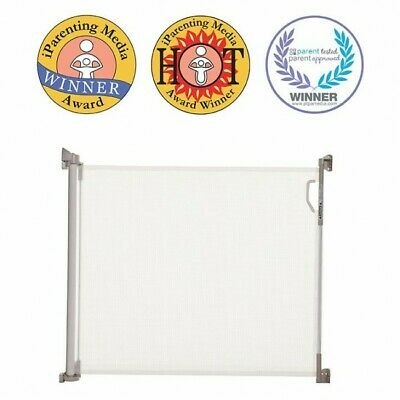 *OFFER* New Dreambaby Retractable Baby Pet Safety Gate & Spacers 140cm Dream
