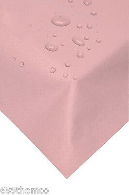 100 Pink Swansilk 90cm Slip Covers Reusable Table Covers Cloth Party Xmas