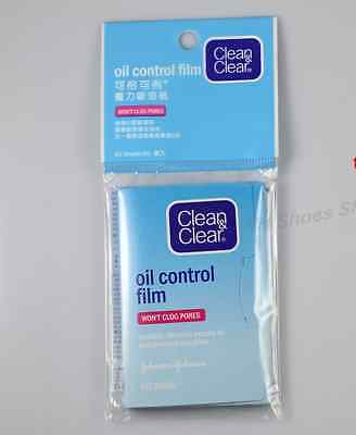 10 x Clean & and Clear Oil Control Film Blotting Paper Face (60 Sheets)