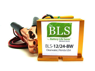 BLS-12/24BW Battery Life Saver for 12 & 24 volt Solar and Wind Battery Banks