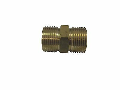 European Hose Coupler M22 x M22 14mm Fits Most Hoses W/ Screw On Couplers