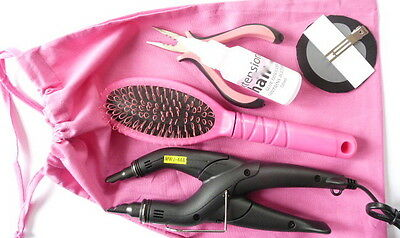 Fusion Heat Connector/gun Kit For App+ Removal Pre-Bonded Remy Hair Nail Tip