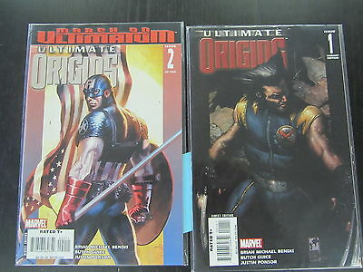 Marvel Comics- Ultimate Origins- Issues #1 (variant) and #2