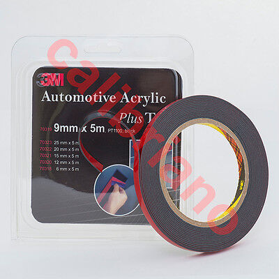 3M 1/3in x 15 ft Double Sided Plus Adhesive Tape 70319 Automotive Mounting