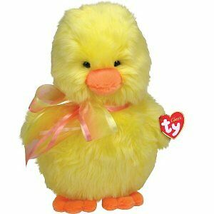 "Ty Classic Hatcher The Yellow Chick 15"" Beanbag Plush New 80116"