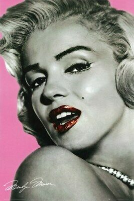 MARILYN MONROE POSTER Pink RARE HOT NEW 24x36