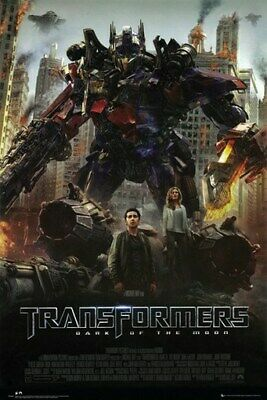 TRANSFORMERS POSTER Dark of the Moon RARE HOT NEW 24x36
