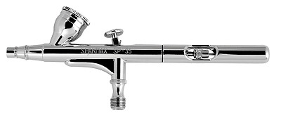 Sparmax Double Action Gravity Feed Airbrush - SP-35 - 0.35mm Nozzle